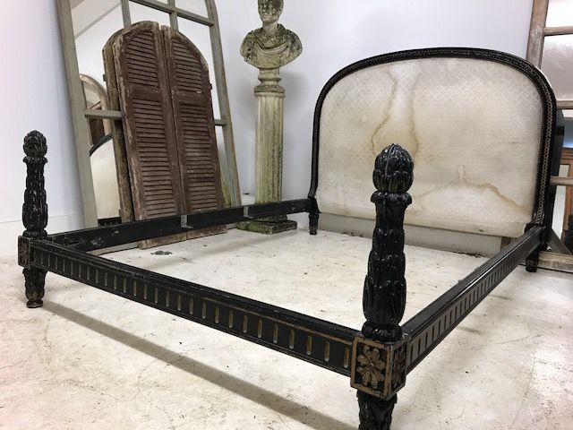 Antique Double French Bed Ca103 833 1 P Jpg