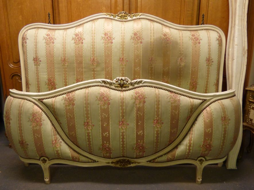 Antique French King Size Bed - cg56