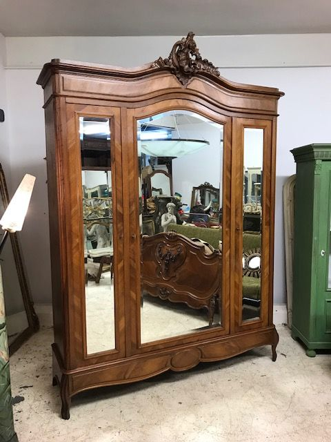 Impressive Antique French Armoire - hj23