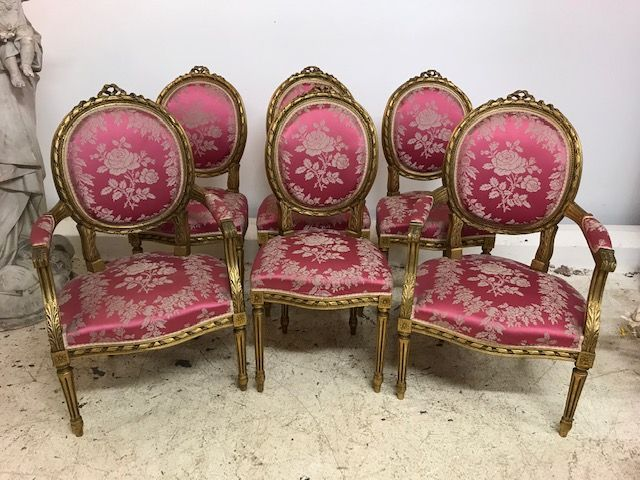 Impressive Vintage  French Salon Set - b103