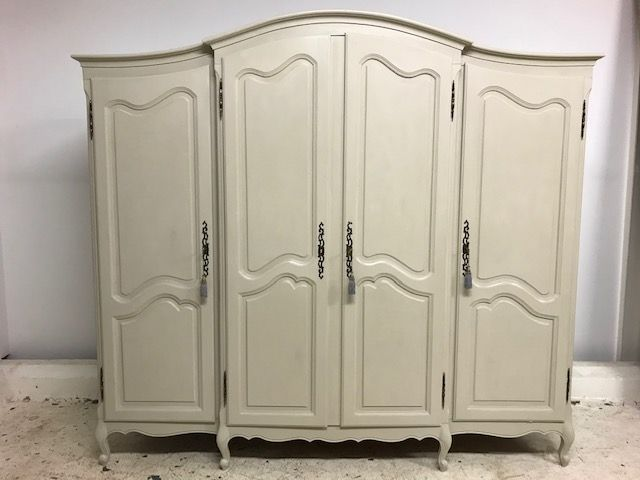 Large Oak French Armoire - French Wardrobe- New In - b303