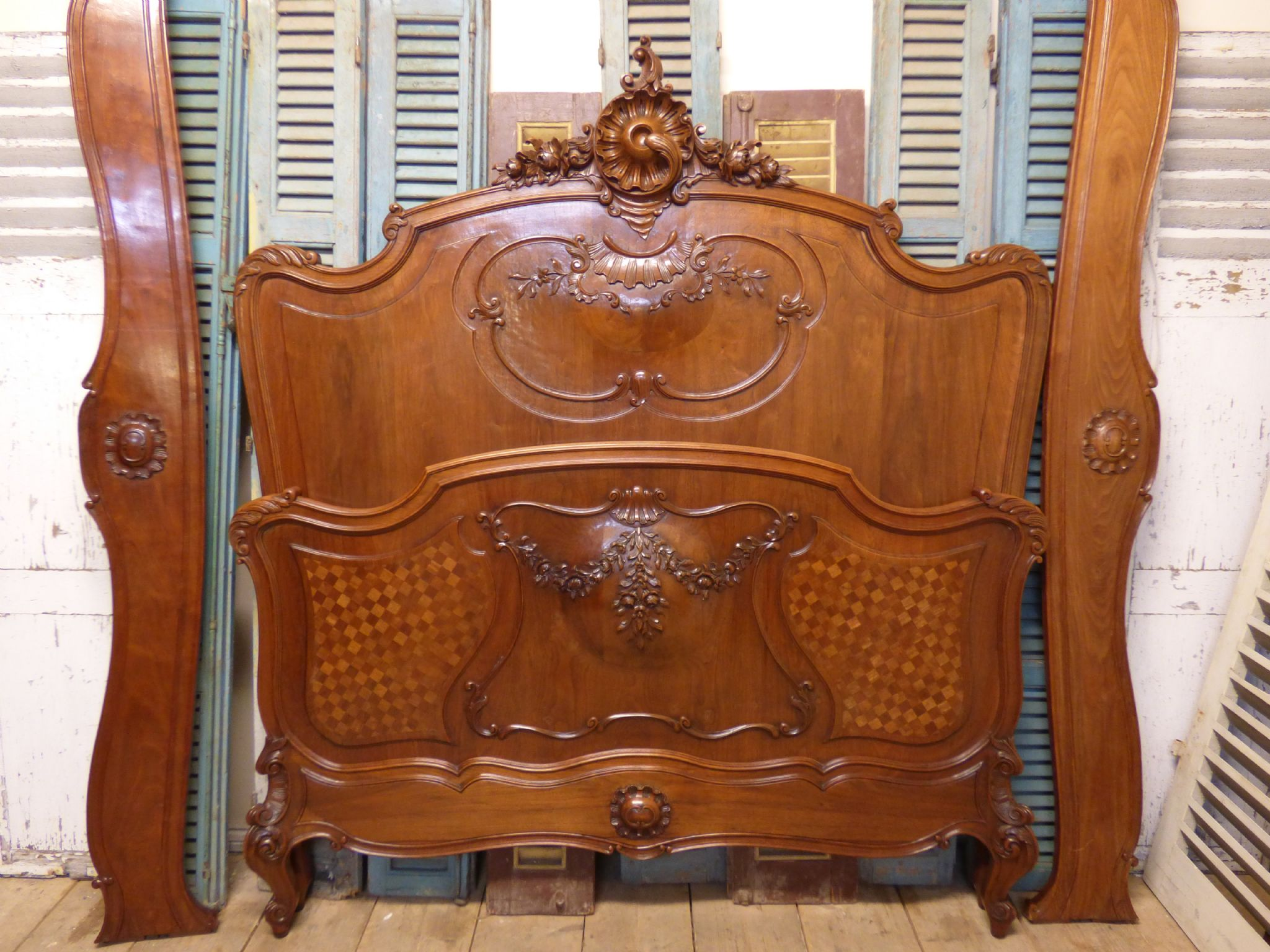 dc99c04d5719b Lovely Antique French King Size Bed - fd89 - SOLD