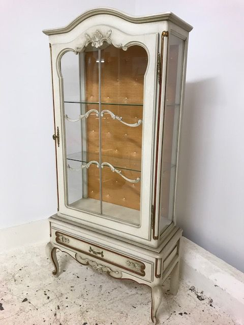 Lovely Vintage French Display Cabinet  - b63