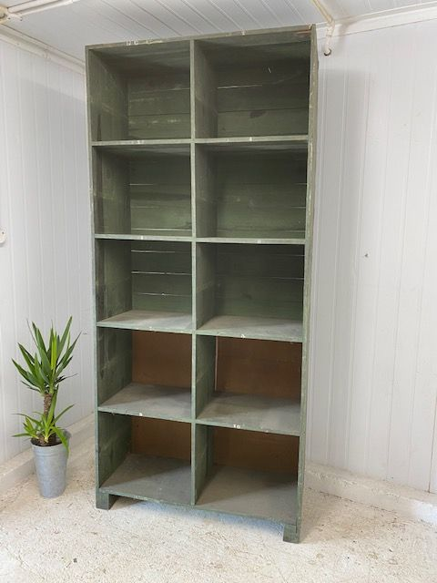 SOLD -  French Industrial Pigeon Hole Unit - bv19
