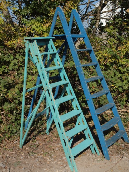 Vintage French Step Ladders
